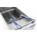 Atosa ATFS-40 CookRite Fryer, gas, floor model, 40 lb. capacity