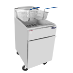 Atosa ATFS-75 CookRite Fryer, gas, floor model, 75 lb. capacity