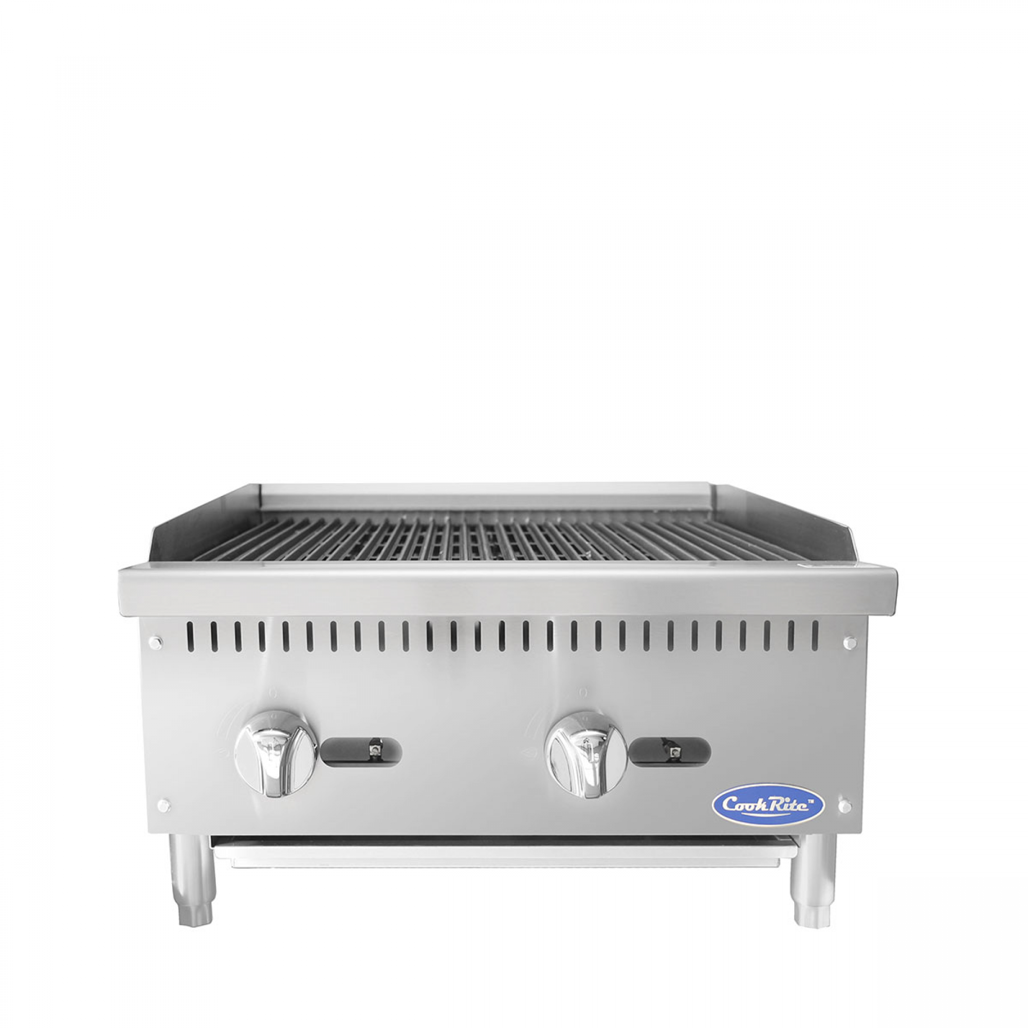 """Atosa ATRC-24 Heavy Duty Radiant Charbroiler, Natural gas, countertop, 24"""""""