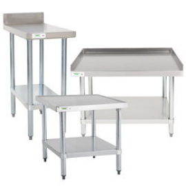 Used Work Tables & Equipment Stands